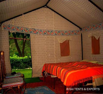Swiss Cottage Resort Tents & Resort Tents - Canvas Resort Tents and Luxury Resort Tents